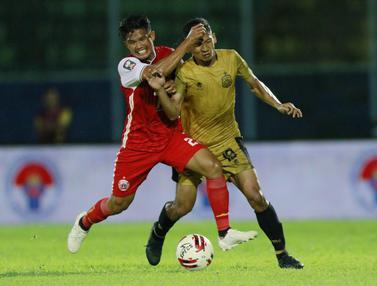 FOTO: Tensi Panas di Laga Hidup Mati Persija Jakarta Kontra Bhayangkara Solo FC di Piala Menpora