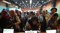 Bursa Kerja Mandiri di Innovation Room-Talent Hub, Kementerian Ketenagakerjaan Jakarta.
