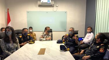 Dirjen Bea Cukai Jakarta & Marunda melakukan kunjungan ke PT Orson Indonesia