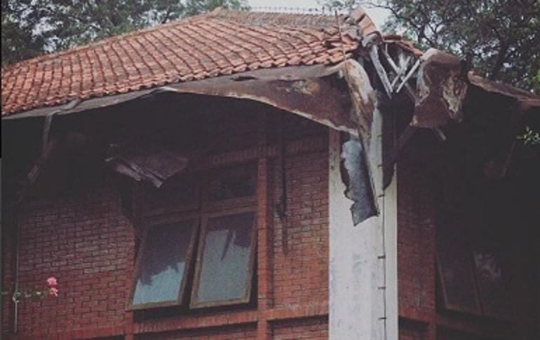 Foto yang diunggah Sara Wijayanto mengenai sebuah gedung yang dihuni sesosok hantu Marni (Instagram)