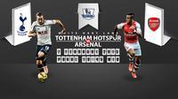 Prediksi Tottenham Hotspur vs Arsenal (Liputan6.com/Yoshiro)
