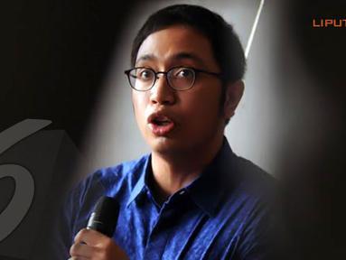 Aristo Pangaribuan juga menegaskan akan menempuh jalur hukum jika dalam waktu 2x24 jam Apung Widadi tidak dapat membuktikan pernyataannya yang tertuang dalam akun facebooknya (Liputan6.com/Helmi Fithriansyah)