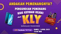 Pengundian Pemenang Ketiban Rejeki dari KLY. (Liputan6.com)