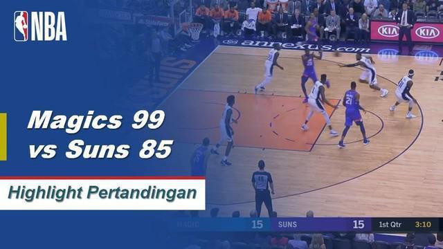 Nikola Vucevic mencetak 25 poin dan 15 rebound membawa Magic mengalahkan Suns