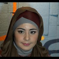 Gaya hijab Risty Tagor banyak ditiru, apa komentarnya mengenai hal itu.