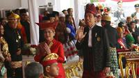 Kereta Pancasila Presiden Jokowi Akan Pimpin Pawai Karnaval Kemerdekaan