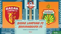 Shopee Liga 1 - Badak Lampung FC Vs Bhayangkara FC (Bola.com/Adreanus Titus)