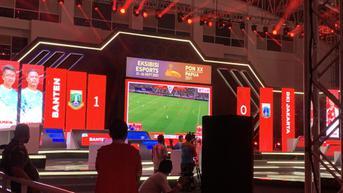 Hasil Pertandingan Ekshibisi Esports eFootball PES 2021 di PON XX Papua 2021