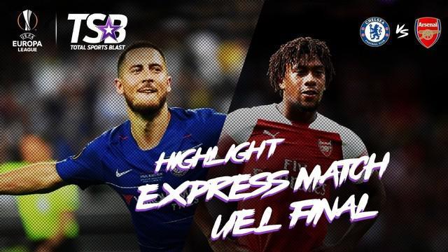 Berita video highlights lengkap laga final Liga Europa 2018-2019, di mana Chelsea mengalahkan Arsenal 4-1 di Baku, Azerbaijan, pada 29 Mei 2019.