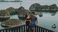 Momen liburan Nikita Willy dan Indra Priawan (Sumber: Instagram/indpriw)