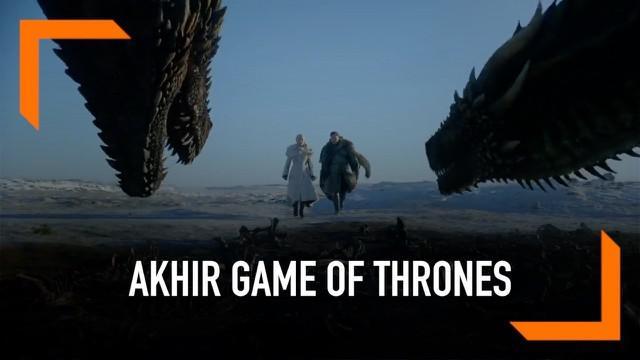 Serial Game of Thrones memasuki episode terakhirnya hari ini. Beberapa pemainnya mengunggah ucapan perpisahan di media sosial.