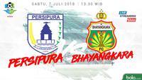 Liga 1 2018 Persipura Jayapura Vs Bhayangkara FC (Bola.com/Adreanus Titus)