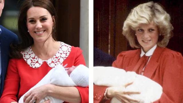 Kesamaan Kate Middleton dan Putri Diana (AFP) 191f586a8a