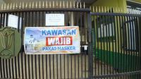 Pesantren di Cilacap, Jawa Tengah tak menerima kunjungan pada masa pandemi Covid-19. (Foto: Liputan6.com/Muhamad Ridlo)