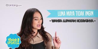 Memperingati Hari Kartini, seperti ini cara Luna Maya memaknainya.