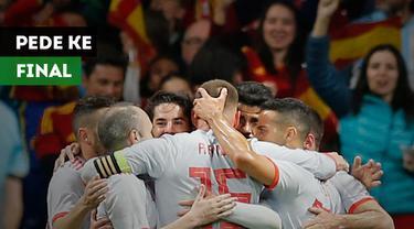Legenda Valencia, Gaizka Mendieta percaya diri jika Spanyol akan melaju ke final Piala Dunia 2018.