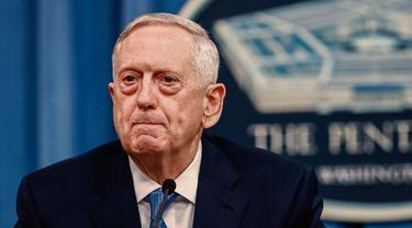 Menteri Pertahanan AS Jim Mattis (AP Photo)