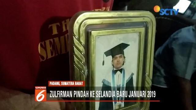 Salah seorang WNI bersama anaknya asal Kota Padang, Sumbar, yang menjadi korban teror penembakan brutal di Selandia Baru, masih dirawat di rumah sakit.