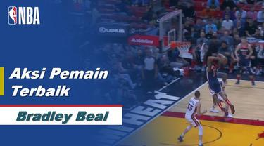 Berita Video Aksi-Aksi Bradley Beal Saat Miami Heat Kalahkan Washington Wizards di NBA
