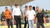 Untuk pertama kalinya, Ikatan Sport Sepeda lndonesia (ISSI) Kabupaten Siak menggelar pertandingan BMX Local Competition, yang dilaksanakan di Venue BMX Kecamatan Siak, Sabtu (31/8/2019).