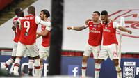 Aubameyang Bawa Arsenal ke Final Piala FA (AP)