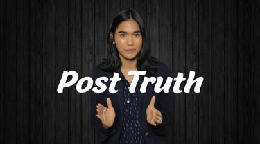 Post Truth adalah situasi yang menyebabkan kita mudah terjebak pada badai informasi simpang siur tanpa fakta. Post Truth pula yang membuat hoaks mudah muncul dan disebarkan tanpa kendali. Mengapa kita bisa terjebak dalam situasi ini?
