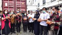 Ekspor tersebut dilepas oleh Wakil Menteri (Wamen) Perdagangan, Jerry Sambuaga, bersama Gubernur Sumut, Edy Rahmayadi di Komplek MMTC, Jalan Willem Iskandar, Deli Serdang, Sabtu, 7 November 2020.