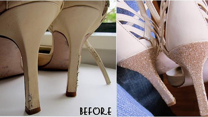 Cara Bikin Heels Sepatu Yang Terkelupas Jadi Baru Lagi - Beauty ... 395127e257