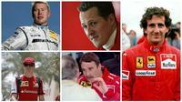 Pebalap yang pernah cuti dari arena F1. (Reuters/Wikipedia)