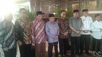 Mantan Wakil Presiden Jusuf Kalla Resmikan Musala di Hutan Kota Plataran. (Liputan6.com/Henry)