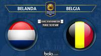 Persahabatan Internasional Belanda Vs Belgia (Bola.com/Adreanus Titus)