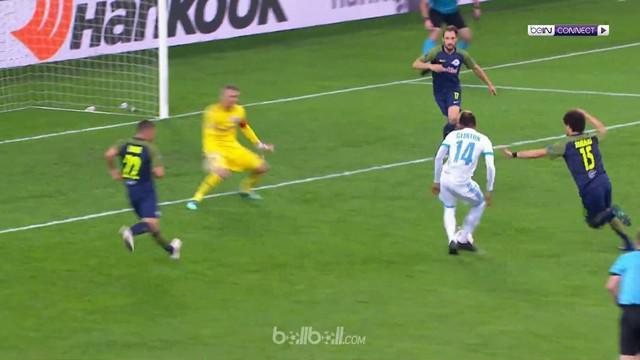Marseille menuai kemenangan 2-0 saat menjamu RB Salzburg di leg pertama semifinal Liga Europa berkat gol Florian Thauvin menit ke-...