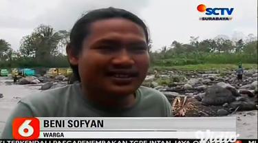 Banjir lahar dingin dari puncak Gunung Semeru di Lumajang, Jawa Timur, menerjang sejumlah daerah aliran sungai. Terdapat tiga daerah aliran sungai, yakni, Sungai Besuk Sat, Glidik, dan Kobokan.
