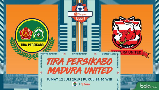 Live Streaming Shopee Liga 1 2019: Tira Persikabo vs Madura United di Indosiar 2