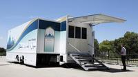 Sebuah mobil masjid yang akan digunakan dalam Olimpiade Tokyo 2020 (Sumber: Standar)