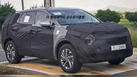 Kia Sportage terbaru tengah uji jalan. (The Korean Car Blog)