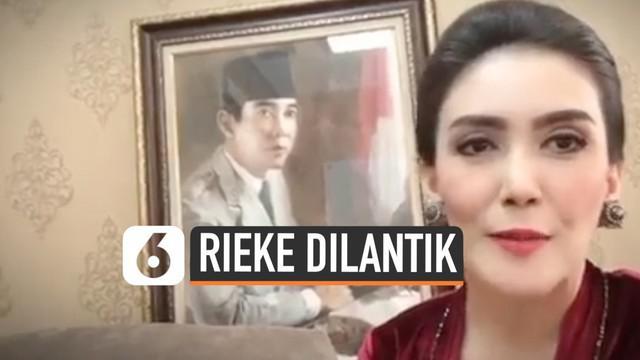 Rieke Diah Pitaloka kembali menjadi anggota DPR RI untuk ketigakalinya. Rieke lolos melalui PDI Perjuangan dari daerah  pemilihan Jawa Barat VII.