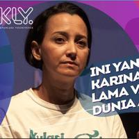 Alasan Karina Suwandi lama vakum dari dunia akting.