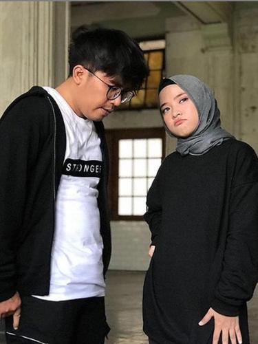 Nissa Sabyan dan Ayus. (Foto: Instagram @sabyan_gambus)