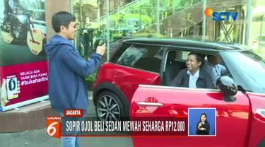 Dedi Heryadi, sopir ojek online yang beli Mini Cooper seharga Rp 12 ribu di Bukalapak, berencana menjual mobil lantaran tingginya harga pajak.