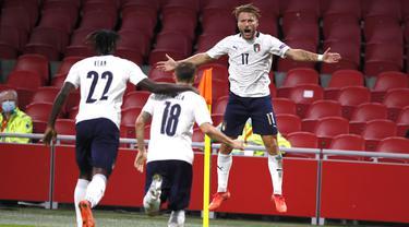 Hasil UEFA Nations League: Italia Permalukan Belanda