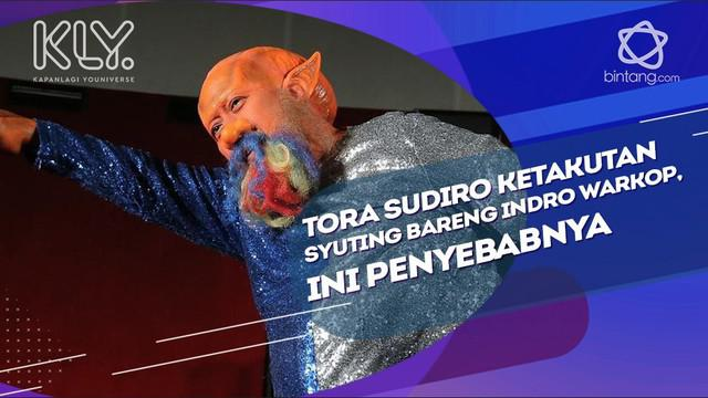 Ini penyebab Tora Sudiro merasa takut syuting bareng Indro Warkop.