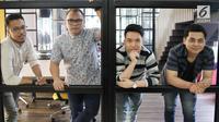 Grup band Badai Romantic Project. (Liputan6.com/Herman Zakharia)