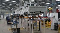 Pabrik Esemka memiliki kapasitas produksi mencapai 18 ribu unit per tahun. (Fajar Abrori / Liputan6.com)