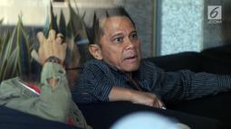 Presiden Komisaris PT Mugi Rekso Abadi Soetikno Soedarjo menunggu pemeriksaan oleh KPK di Jakarta, Rabu (7/8/2019). Soetikno diperiksa sebagai tersangka kasus dugaan suap pengadaan pesawat dan mesin pesawat dari Airbus S.A.S dan Rolls Royce PLC pada PT Garuda Indonesia. (merdeka.com/Dwi Narwoko)