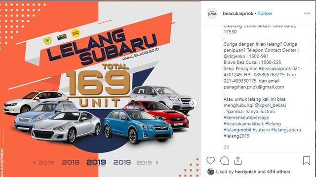Ratusan Mobil Subaru Di Lelang Berminat Otomotif Liputan6 Com