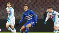 Kiprah Patrik Schick bersama Sampdoria menarik minat Juventus, AC Milan, dan Inter Milan. (Zimbio)