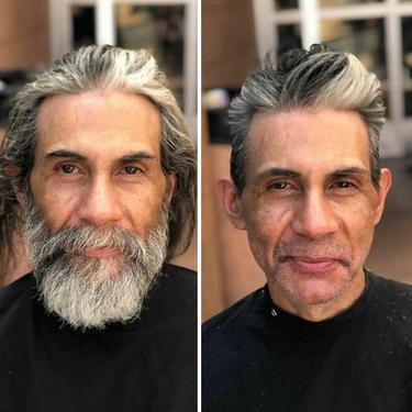Perubahan penampilan tunawisma