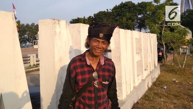 Abdul Basir, salah satu artis Makyong yang berusaha bertahan dan tinggal di Dendang Melayu. (foto: Liputan6.com / ajang nurdin)