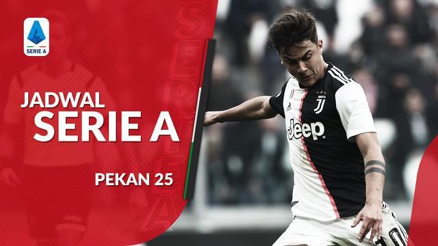 Berita video jadwal Serie A 2019-2020 pekan ke-25. Juventus bertandang ke markas SPAL, Minggu (23/2/2020) di Stadion Paolo Mazza, Ferrara.